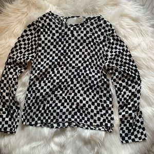 Checkered H&M Top